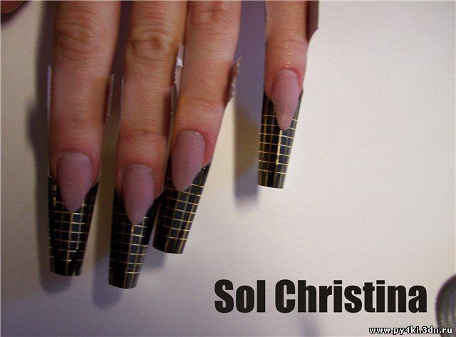 дизайн ногтей edge