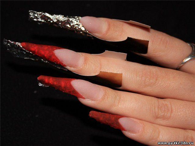хрустальные ногти видео