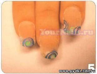 дизайн ногтей 2011 зима