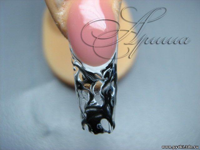 Фотографии новогоднего дизайна ногтей