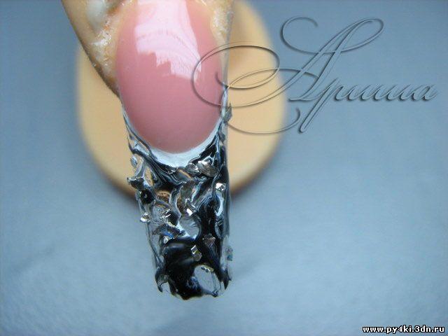 стекло ногти