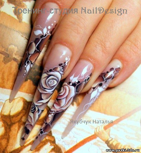 мк по дизайну ногтей: