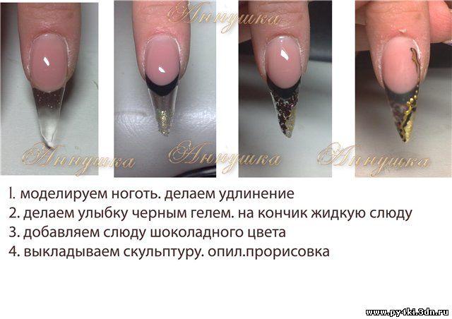 Дизайн ногтевых школ