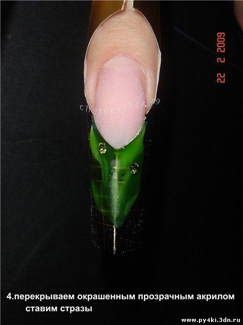 Идеи для дизайна нарощенных ногтей