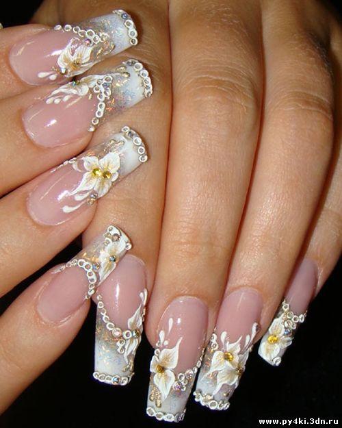 Мк дизайн ногтей гелем пошаговая инструкция