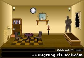 Флеш-Игры Онлайн игра Шерлок Холмс (Sherlock Holmes Museum Escape)