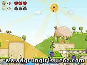 Флеш-Игры Онлайн игра Hardest Fruit Mario