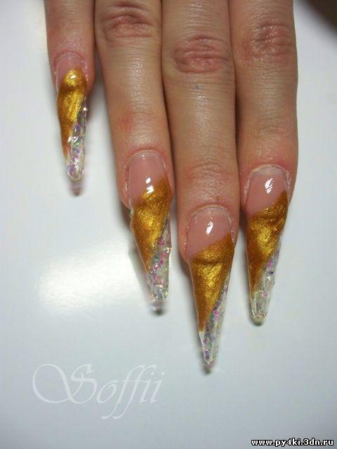 делаем кружевной дизайн ногтей фото