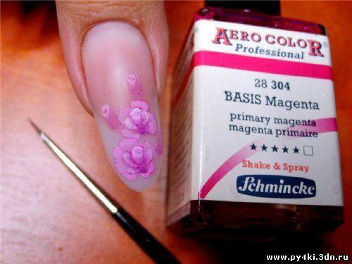 дизайн ногтей китайская роспись