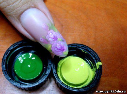 китайские рисунки +на ногтях
