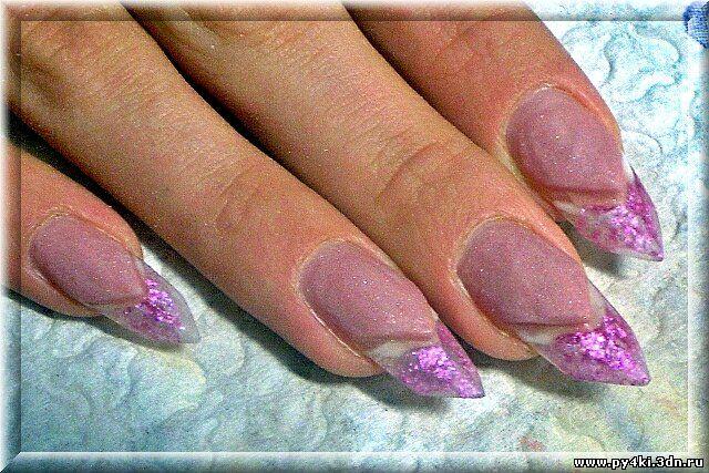 Фото коррекция гелевых ногтей