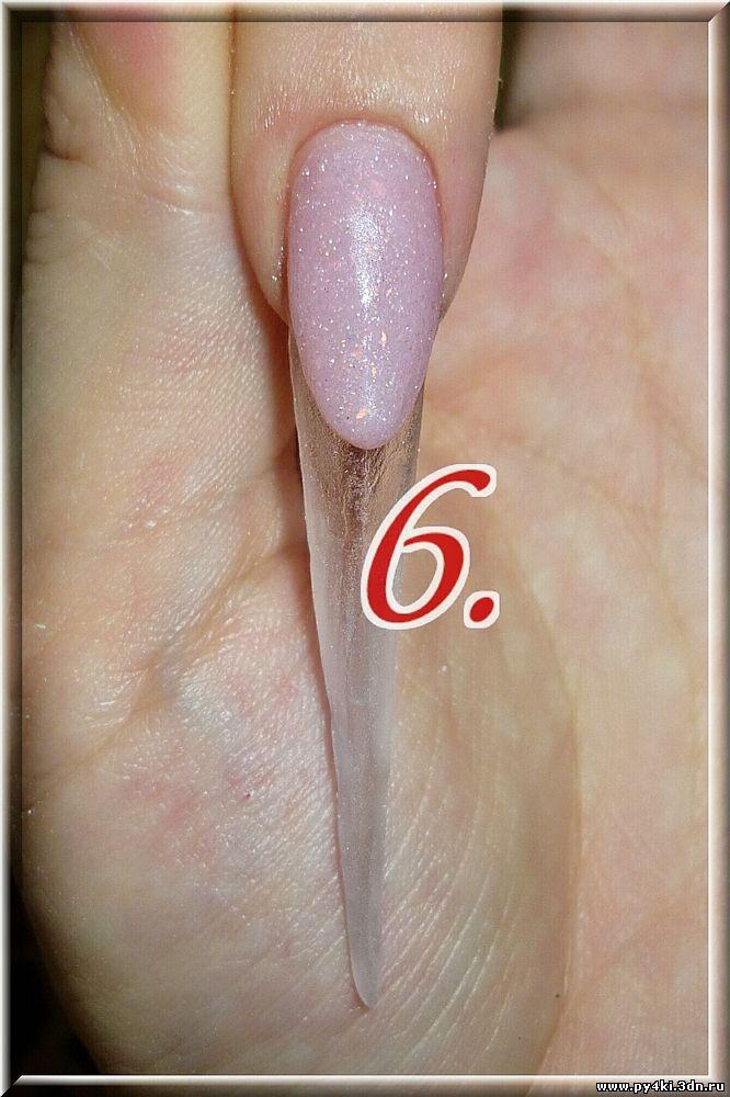 МК от mystery - фимки на ногтях.